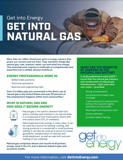Natural Gas Flyer